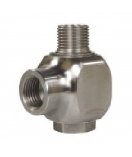 "Stainless Steel Swivel 3/8"" x 1/2"""