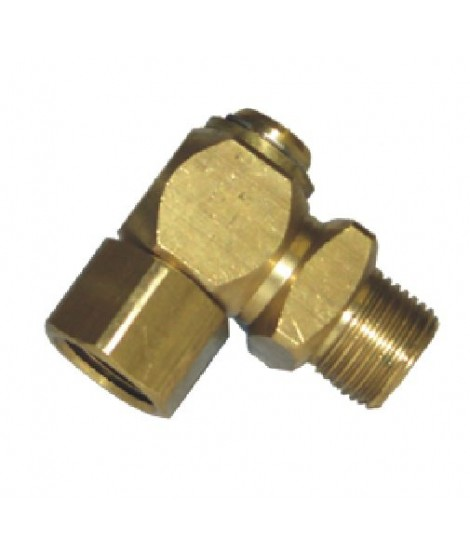 "Brass Swivel 1/2"" x 1/2"""