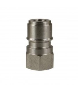 "3/8"" Stainless Steel Female Coupling"
