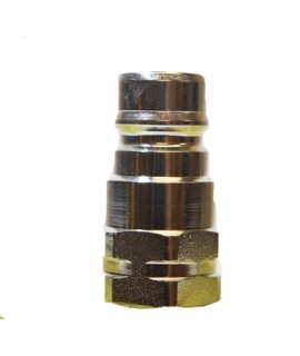 "1/2"" Chrome Quick Coupling Male"