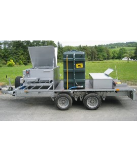 Trailer Mounted Slat Washer
